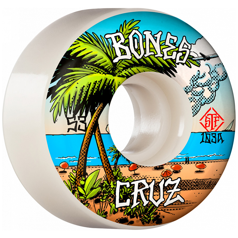 Bones STF Cruz Buena Vida Locks Wheels V2 53mm 103A