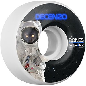 Bones STF Decenzo Catstronaut Wheels V2 83B 53mm