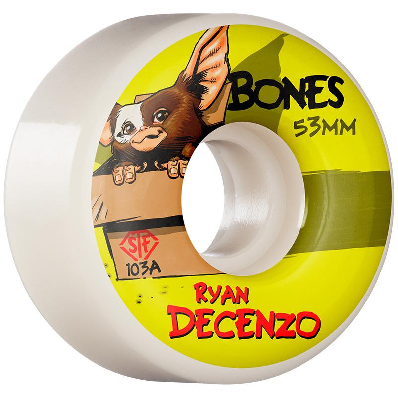 Bones STF Decenzo Gizzmo V2 Locks Wheels 103A 53mm