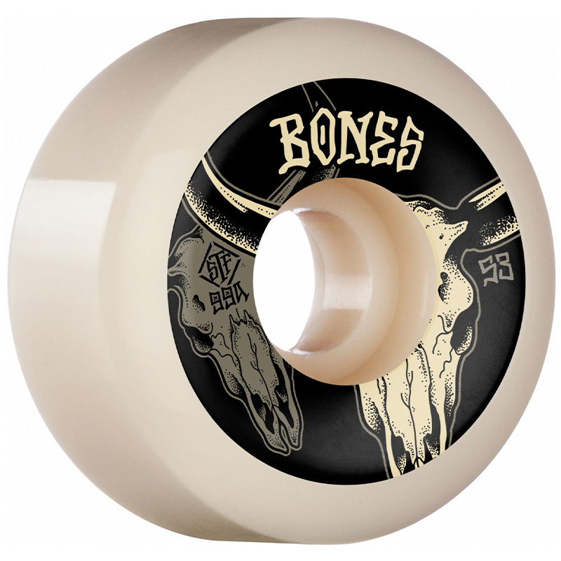 Bones STF Desert Horns Sidecut Wheels 99A 53mm