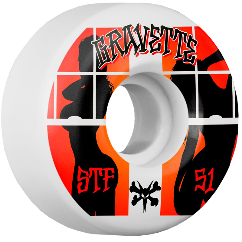 Bones STF Gravette Peeps Wheels V2 83B 51mm