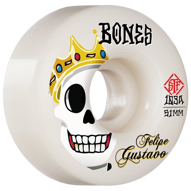 Bones STF Gustavo Notorious V1 Standard Wheels 103A 51mm