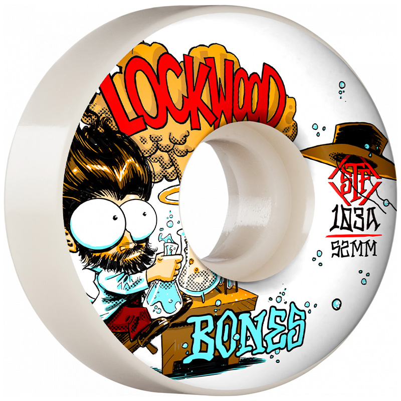 Bones STF Lockwood Experi-Mental Slims Wheels V3 103A 52mm