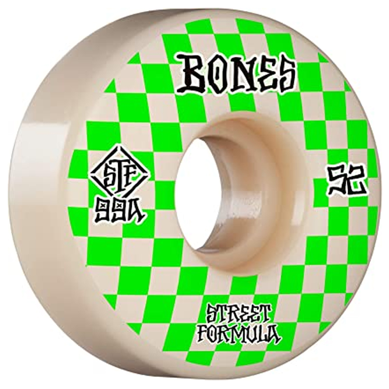 Bones STF Patterns Slim Wheels 99A 52mm