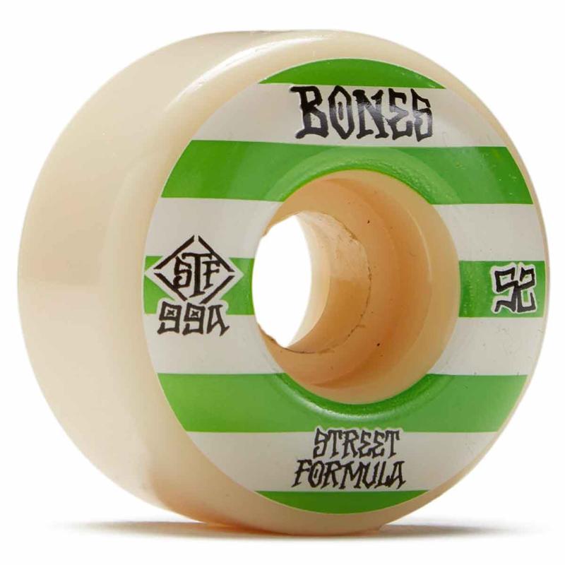 Bones STF Patterns Wide Wheels 99A 52mm