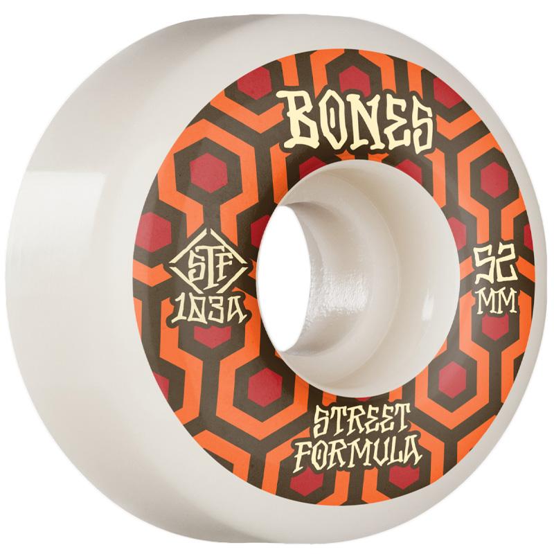 Bones STF Retros V1 Standard Wheels 103a White 52mm