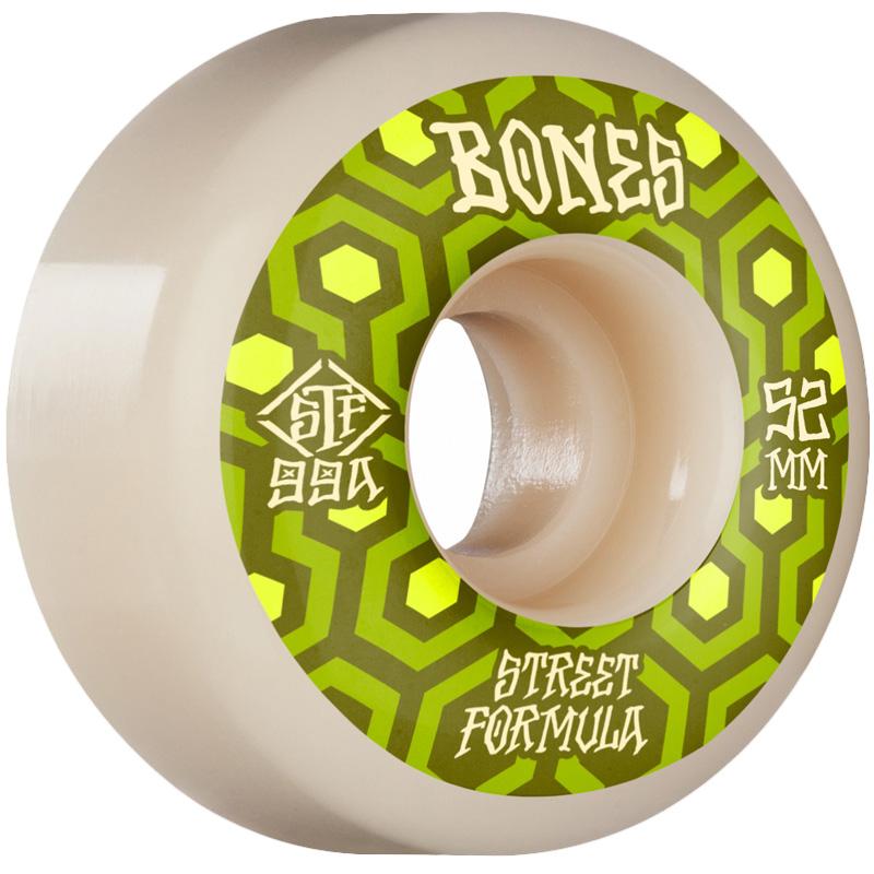 Bones STF Retros V1 Standard Wheels 99a White 52mm