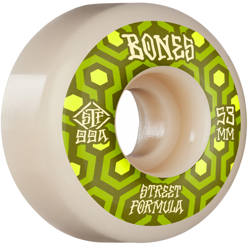 Bones STF Retros V1 Standard Wheels 99a White 53mm