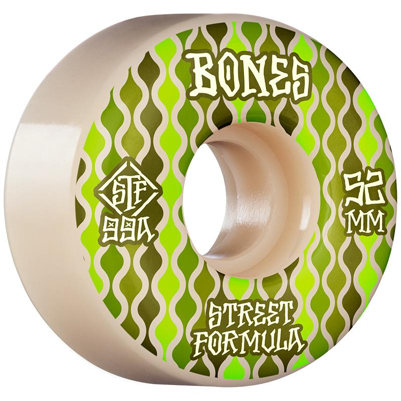Bones STF Retros V2 Locks Wheels 99a White 52mm