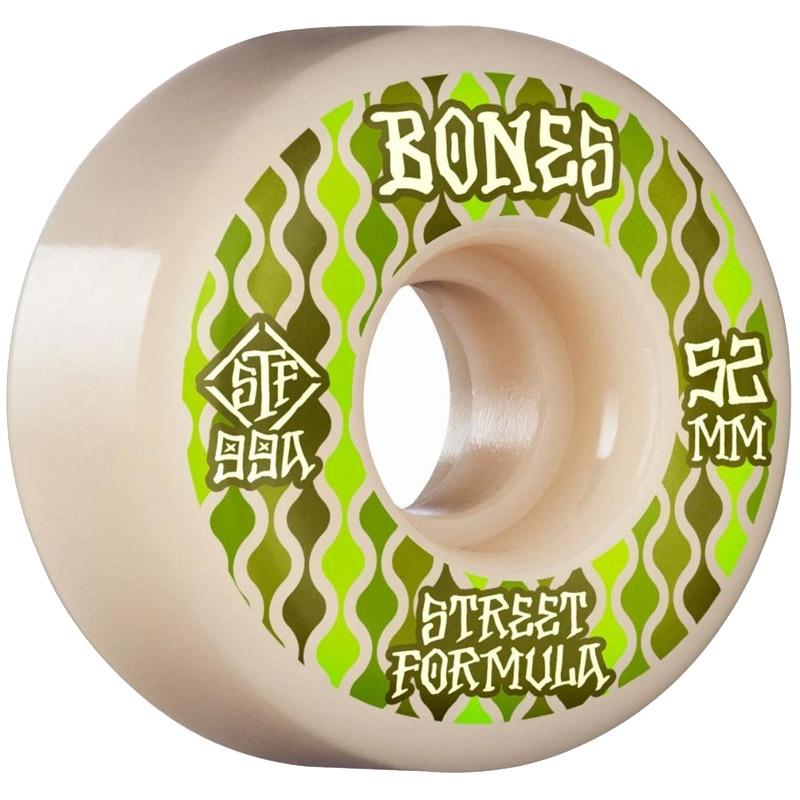 Bones STF Retros V2 Locks Wheels 99a White 53mm