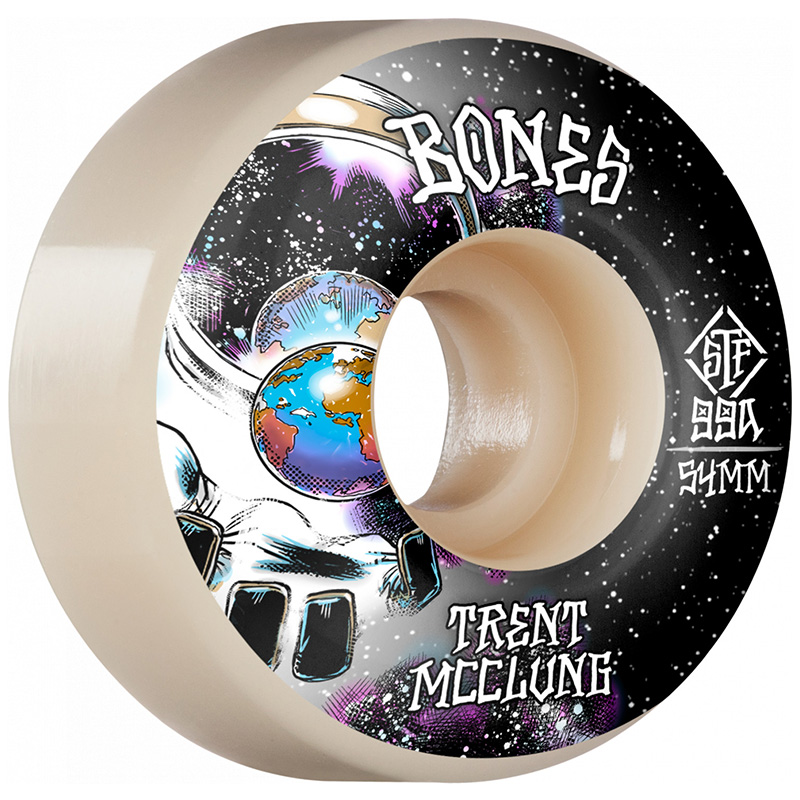 Bones STF Trent McClung Unknown Standard Wheels V1 99A 54mm