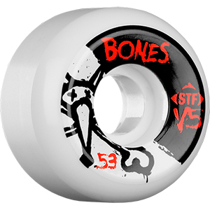 Bones STF Wheels V5 White 83B 53mm
