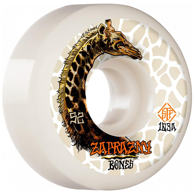 Bones STF Zaprazny Giraffe Sidecut Wheels V5 103A 52mm
