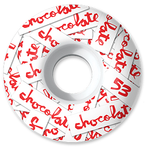Chocolate All Over Chunk Wheels 99D 53mm