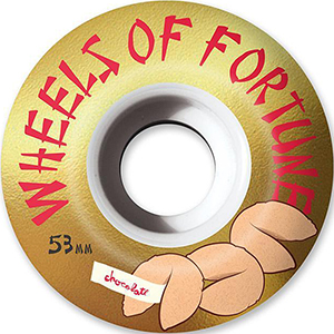 Chocolate Wheels of Fortune Stout 99D Wheels 53mm