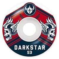 Darkstar Ale Wheels Navy/Red 53mm