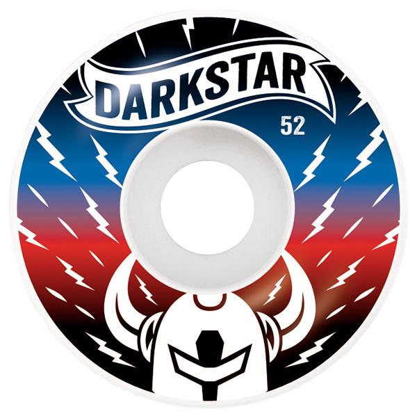 Darkstar Axis Wheel Blue/Red 52mm