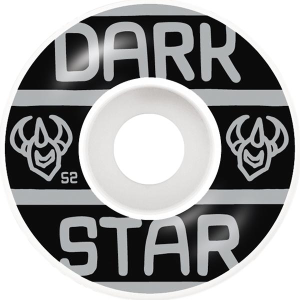 Darkstar Block Wheels Silver 52mm