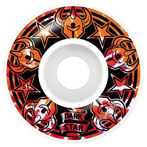 Darkstar Civil Orange Wheels 51mm