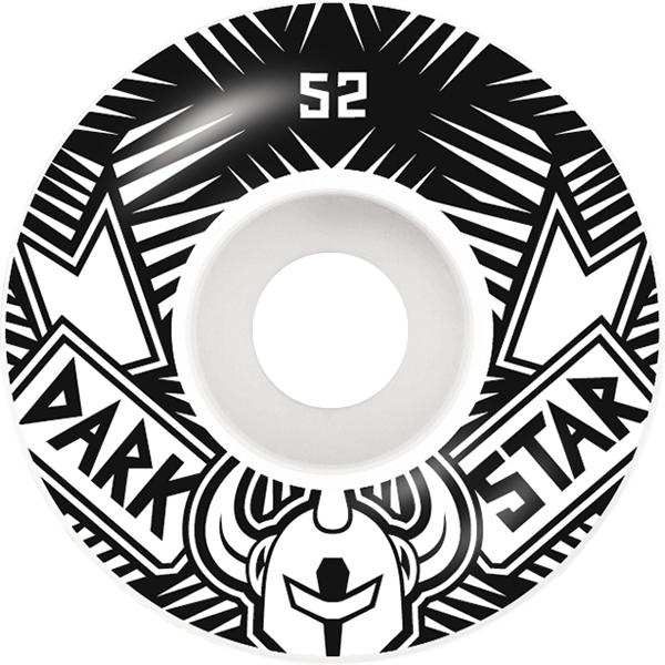 Darkstar Grand Wheels Black/White 52mm
