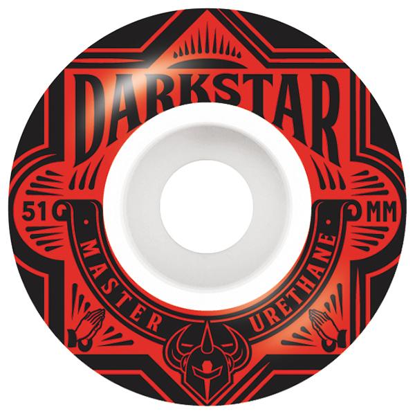 Darkstar Resolve Wheel Blue 53mm