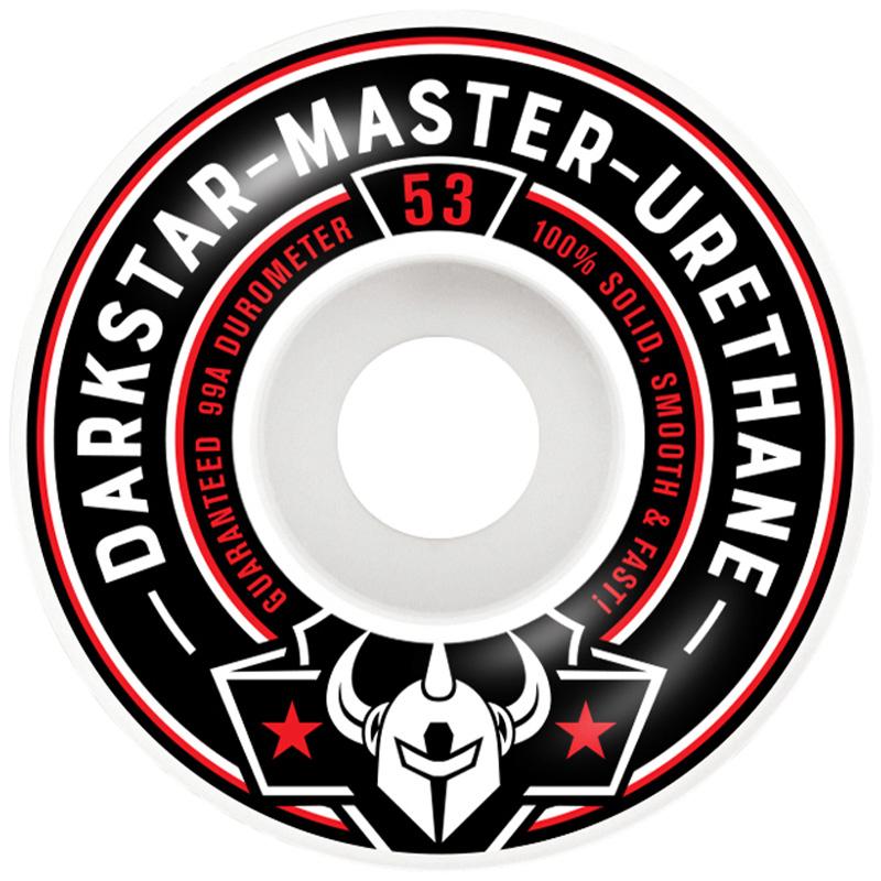 Darkstar Responder Wheels Red 53mm