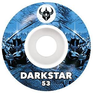 Darkstar Throwback 2 Wheels Blue 53mm