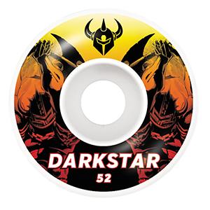 Darkstar Throwback Wheels Orange 52mm