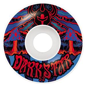 Darkstar Trippy Wheels Red/Blue 52mm