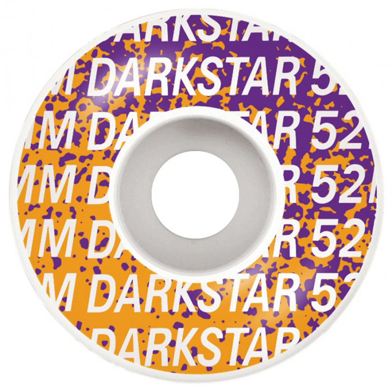 Darkstar Wordmark WheelSilver 52mm