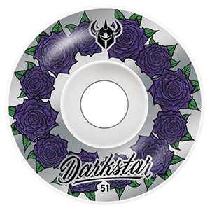 Darstar In Bloom Wheels Silver 51mm