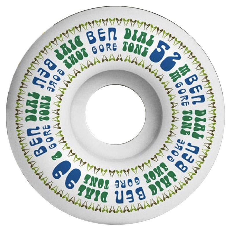 Dial Tone Ben Gore Sax-O-Phone Round Cut Wheels 52mm