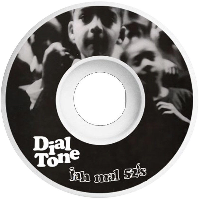 Dial Tone Jahmal Williams De La Tone Round Cut Wheels 99A 52mm