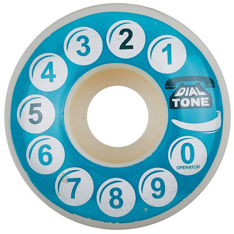 Dial Tone Rotary Standard Wheel 101A 52mm