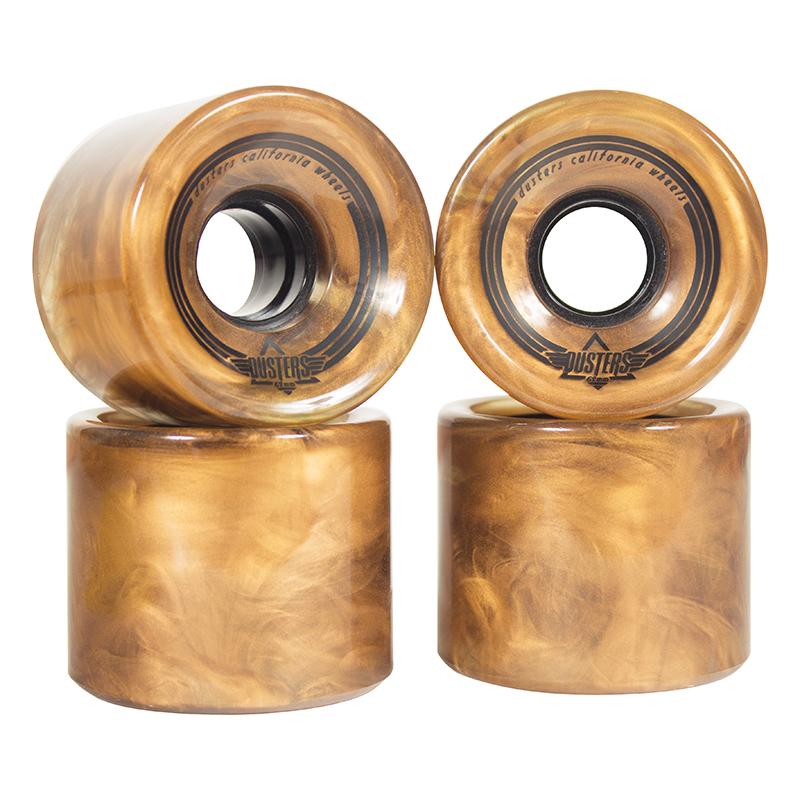 Dusters Swirl Wheel Gold 78A 65mm