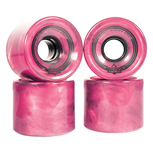 Dusters Swirl Wheel Pink 78A 65mm