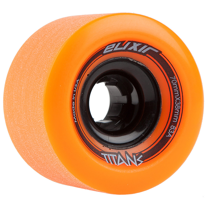 Elixir Titans Wheels Orange 70Mm