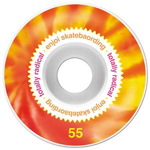 enjoi Radical Wheels White 55mm