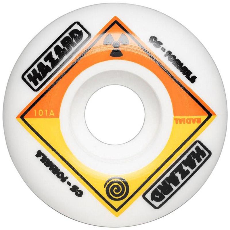 Hazard Bio CS Radial Wheels White 53mm