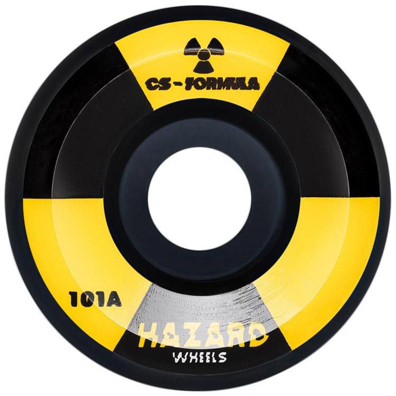 Hazard Radio Active CS Conical Wheels Black 52mm