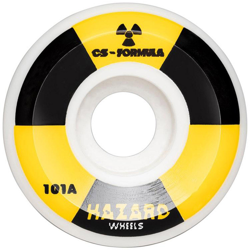 Hazard Radio Active CS Conical Wheels White 58mm
