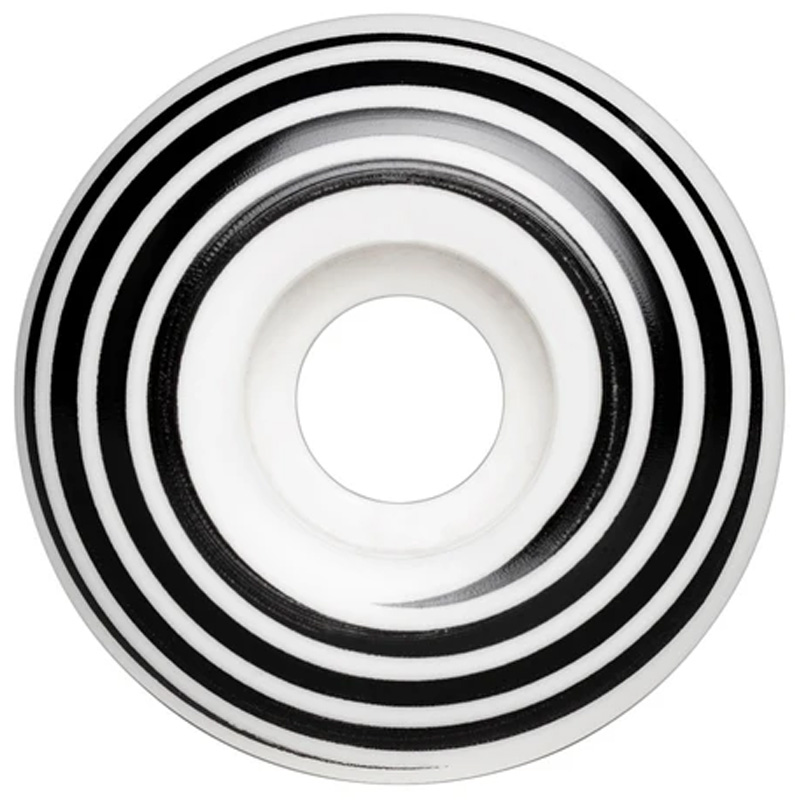 Hazard Swirl CP Radial Wheels White 51mm