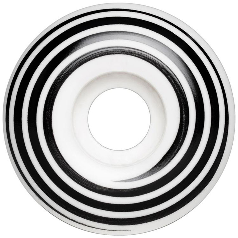 Hazard Swirl CP Radial Wheels White 60mm