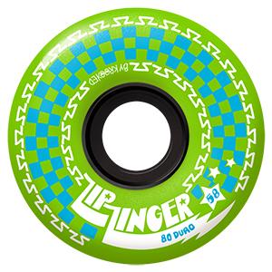 Krooked Zip Zinger Wheels Green 80D 58mm
