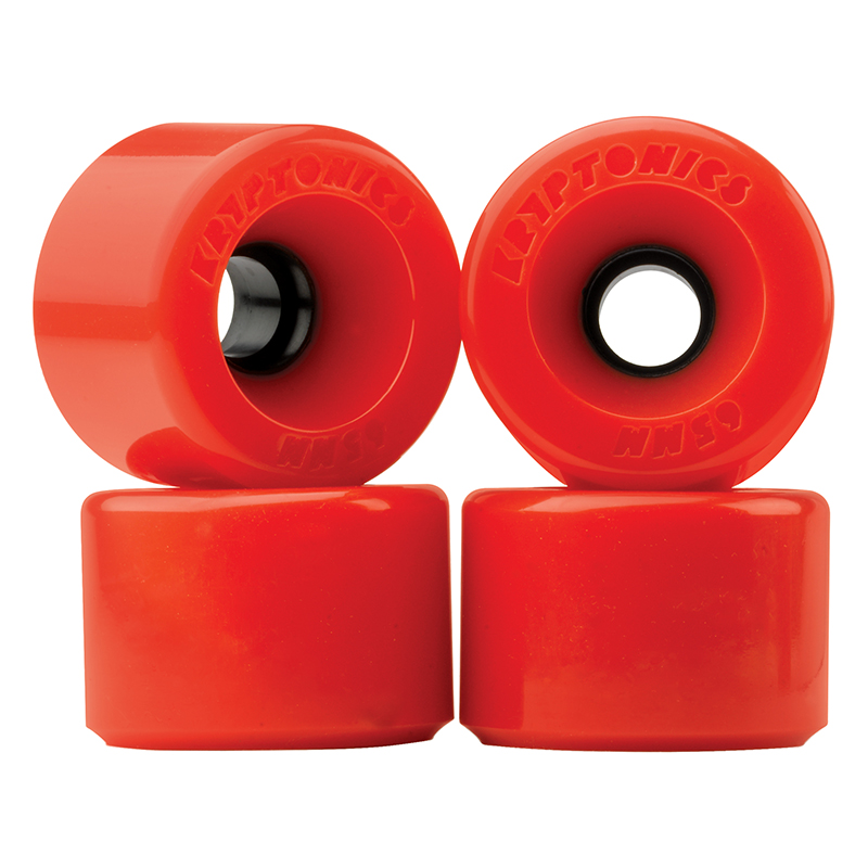 Kryptonics Star Trac Wheels Red 78A 60mm