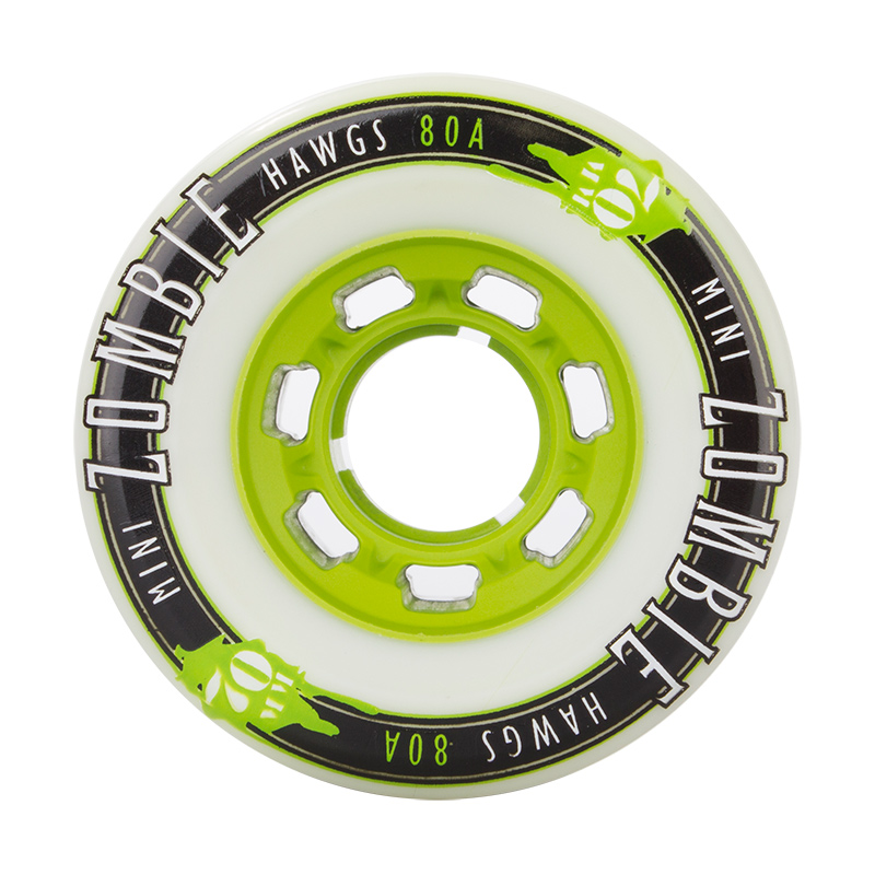 Landyachtz Mini Zombie Hawgs White Wheels 70mm
