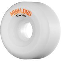 Mini Logo A-Cut Wheels White 101A 51mm