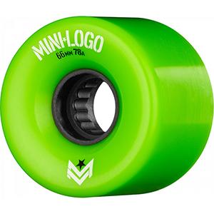 Mini Logo A-Cut A.W.O.L. Wheels Green 78A 66mm
