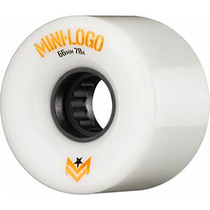 Mini Logo A-Cut A.W.O.L. Wheels White 78A 66mm