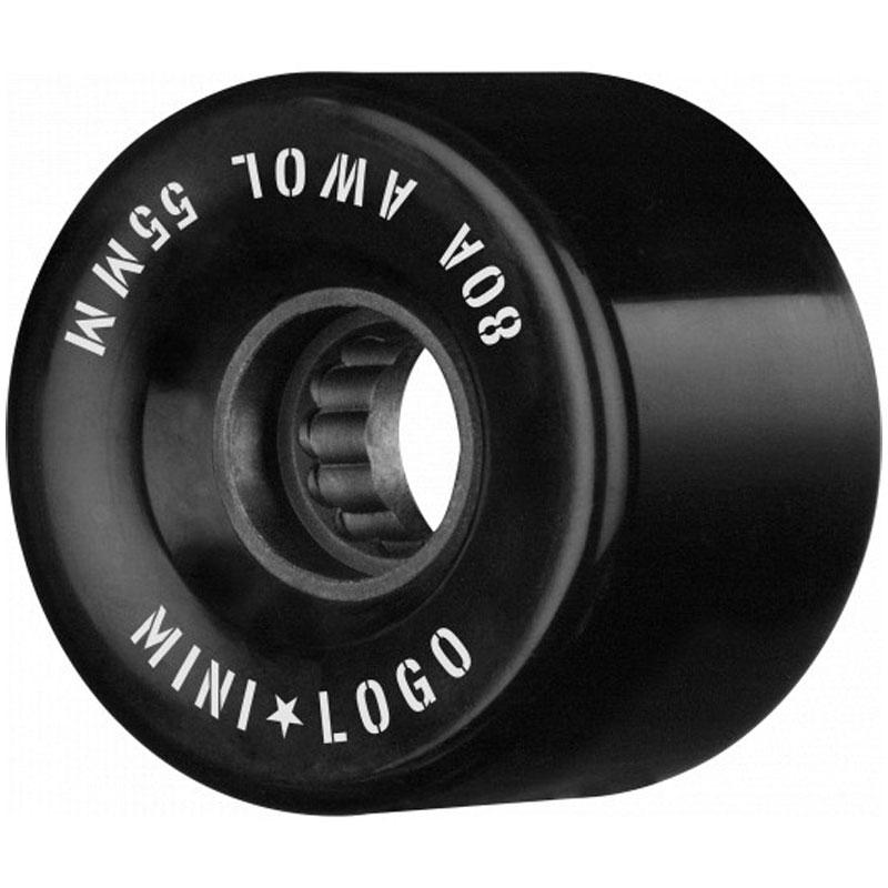 Mini Logo AWOL Wheels 80A Black 55mm